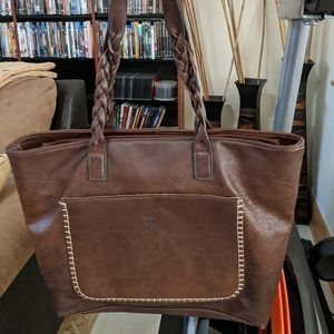 Weimeibaige Faux Leather Tote Bag